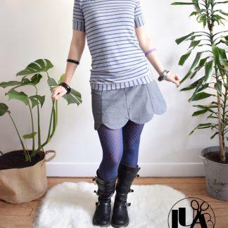 2 mini jupe lipsi l'usine à bulle shop